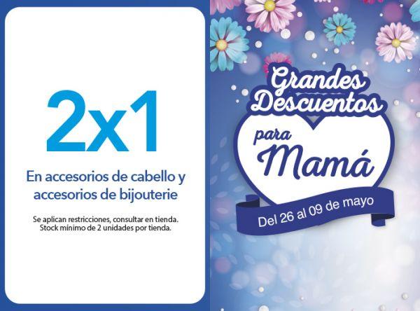 2X1 EN ACCESORIOS DE CABELLO Y ACCESORIOS DE BIJOUTERIE - Plaza Norte