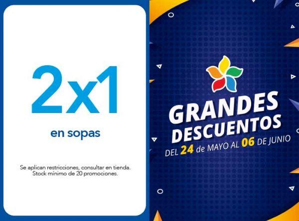 2 X 1 EN SOPAS - Don Buffet - Plaza Norte