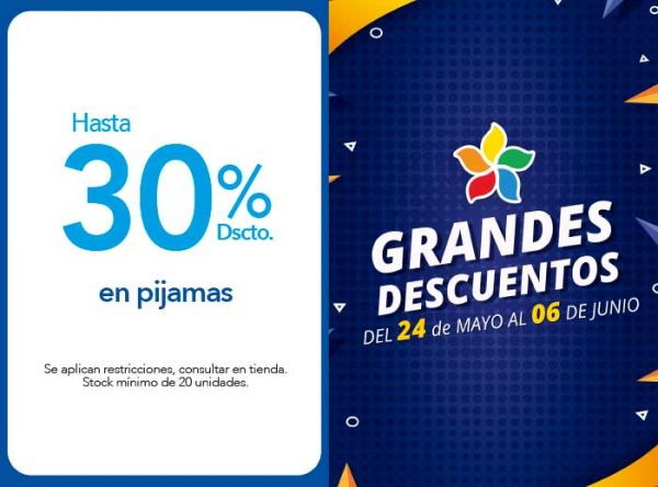 HASTA 30% DSCTO. EN PIJAMAS - Plaza Norte
