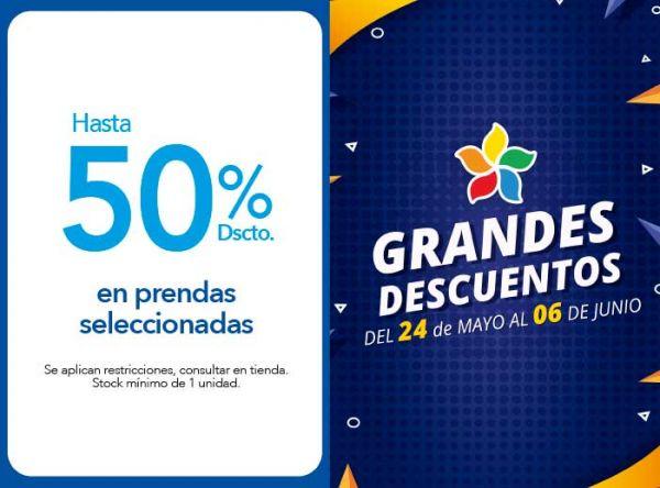 HASTA 50% DSCTO. EN PRENDAS SELECCIONADAS - NOW - Plaza Norte