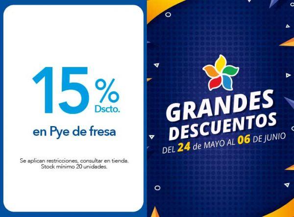 15 % DSCTO. EN PYE DE FRESA - Panistería - Plaza Norte