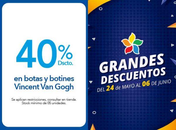 40% DSCTO.EN BOTAS Y BOTINES VINCENT VAN COGH - Plaza Norte