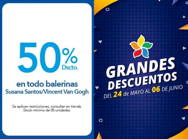 50 % DSCTO.EN TODO BALERINAS SUSANA SANTOS/ VINCENT VAN GOGH - Plaza Norte