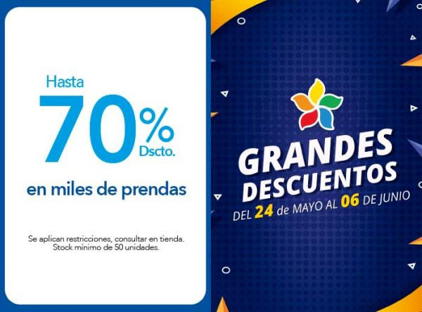 HASTA 70% DSCTO. EN MILES DE PRENDAS. - THE CULT - Plaza Norte