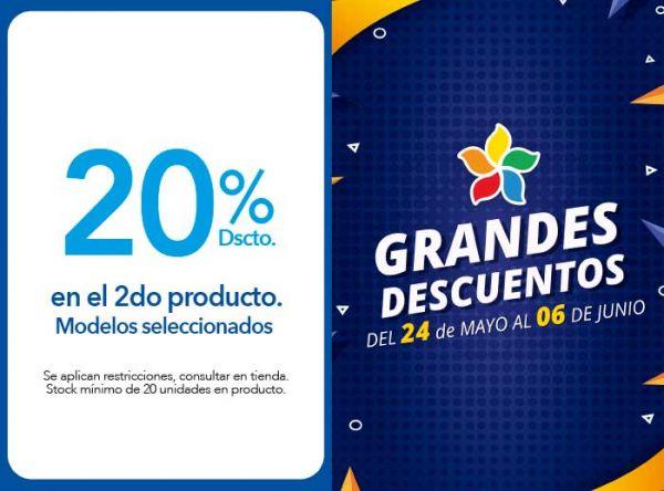 20% DSCTO EN EL 2DO PRODUCTO. MODELOS SELECCIONADOS - Viale - Plaza Norte