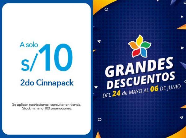 2DO CINNAPACK A S/ 10.00 - Cinnabon - Plaza Norte