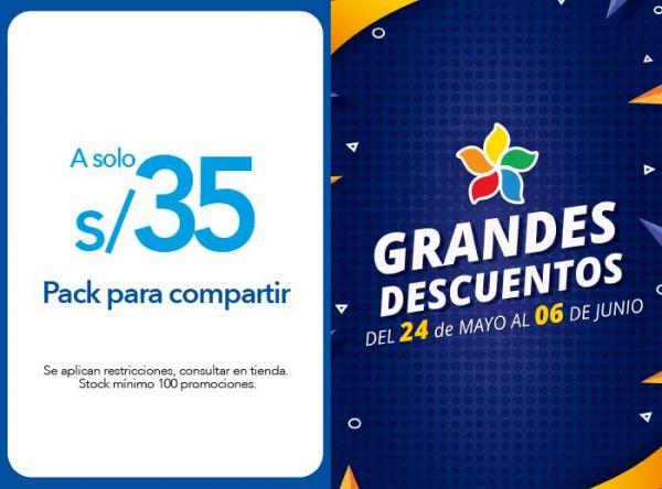 PACK PARA COMPARTIR A S/ 35.00 - Cinnabon - Plaza Norte