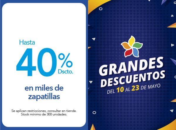 HASTA 40%  DSCTO. EN MILES DE ZAPATILLAS - Footloose - Plaza Norte