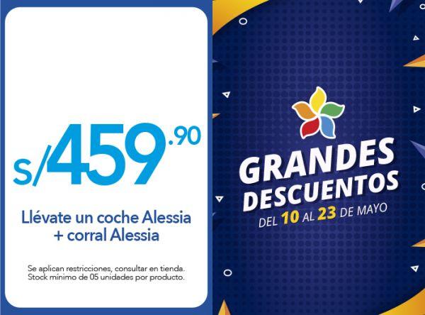 LLÉVATE UN COCHE ALESSIA + CORRAL ALESSIA A S/459.90 - Nua  - Plaza Norte