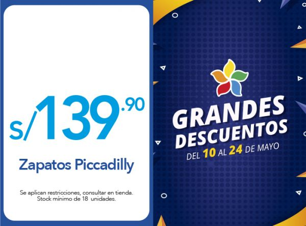 ZAPATOS PICCADILLY  A SOLO S/139.90 - Plaza Norte