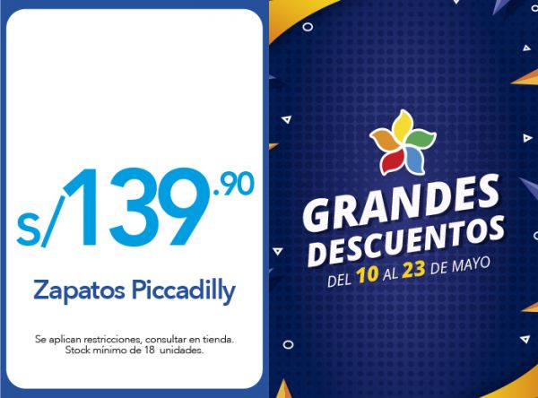 ZAPATOS PICCADILLY  A SOLO S/139.90 - Sdely - Plaza Norte