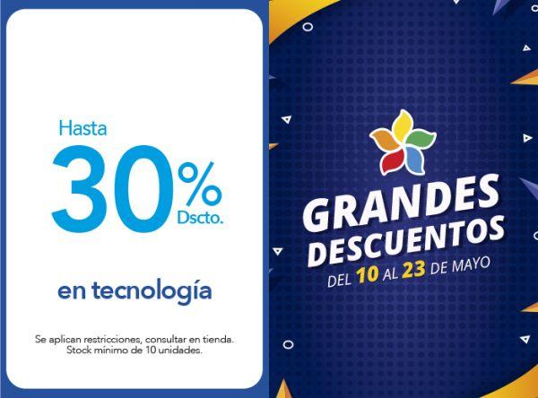 HASTA 30% DSCTO. EN TECNOLOGÍA - Plaza Norte