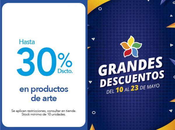 HASTA 30% DSCTO. EN PRODUCTOS DE ARTE - Plaza Norte