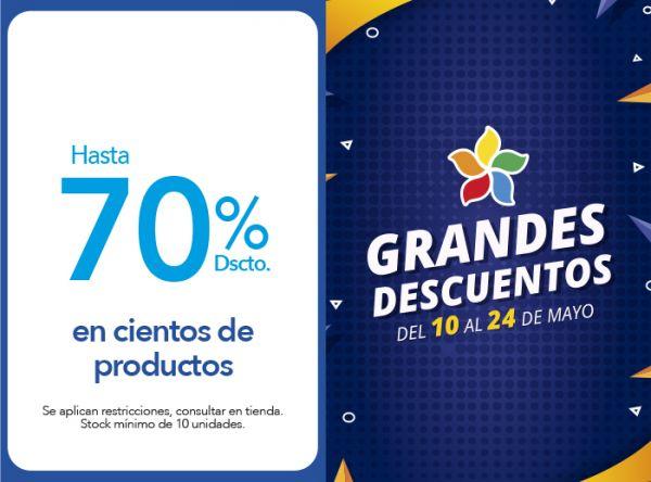 HASTA 70% DSCTO. EN CIENTOS DE PRODUCTOS - Plaza Norte