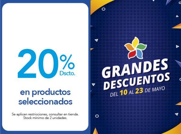 20% DSCTO.EN PRODUCTOS SELECCIONADOS - USAMS - Plaza Norte
