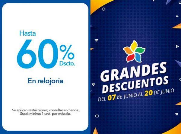 HASTA 60% DSCTO. EN RELOJERIA - Chronos - Plaza Norte