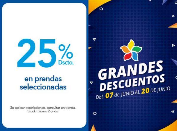25% DSCTO. EN PRENDAS SELECCIONADAS DE TEMPORADA - Cicibet  - Plaza Norte