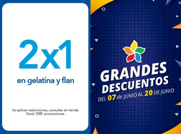 2X1 EN GELATINA Y FLAN - Don Buffet - Plaza Norte
