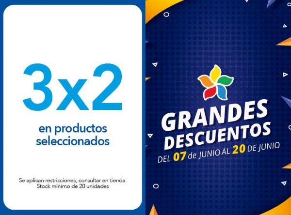 3X2 EN PRODUCTOS SELECCIONADOS - Plaza Norte