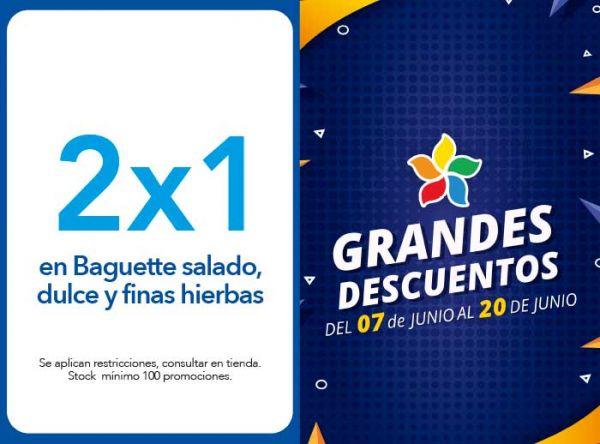 2X1 EN BAGUETTE SALADO, DULCE Y FINAS HIERBAS - Panistería - Plaza Norte