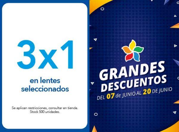 3X1 EN LENTES SELECCIONADOS - SUNTIME - Plaza Norte