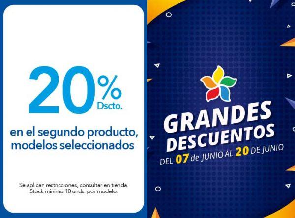 20% DSCTO. EN EL SEGUNDO PRODUCTO, MODELOS SELECCIONADOS - Viale - Plaza Norte