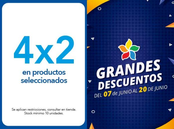 4 X 2 EN PRODUCTOS SELECCIONADOS - Plaza Norte