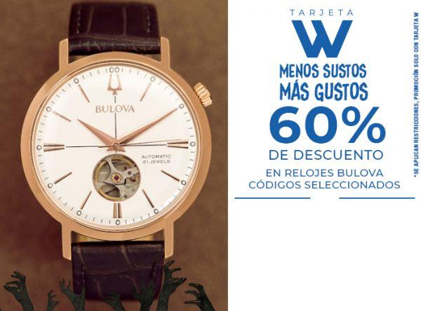 60% DSCTO.  EN RELOJES BULOVA CÓDIGOS SELECCIONADOS - Chronos - Plaza Norte