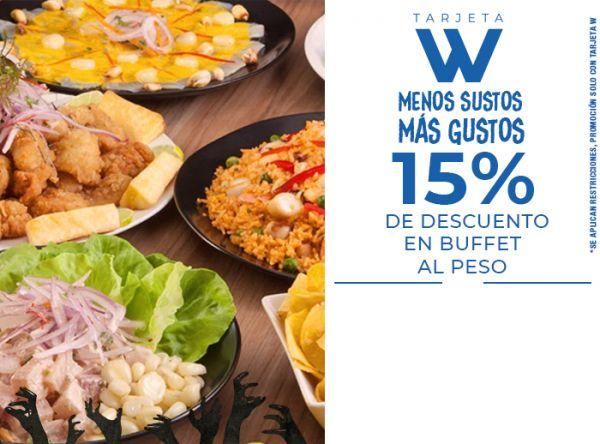 15% DSCTO EN BUFFET AL PESO - Don Buffet - Plaza Norte