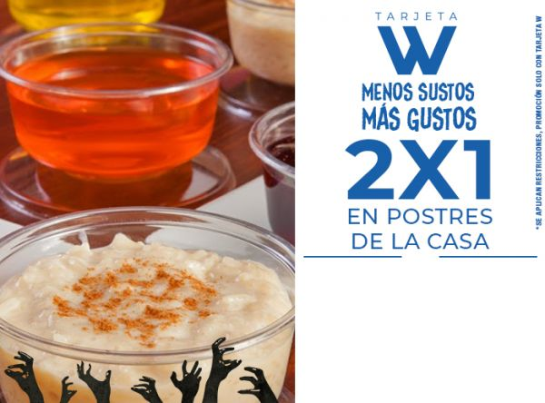2X1 EN POSTRES DE LA CASA - Don Buffet - Plaza Norte