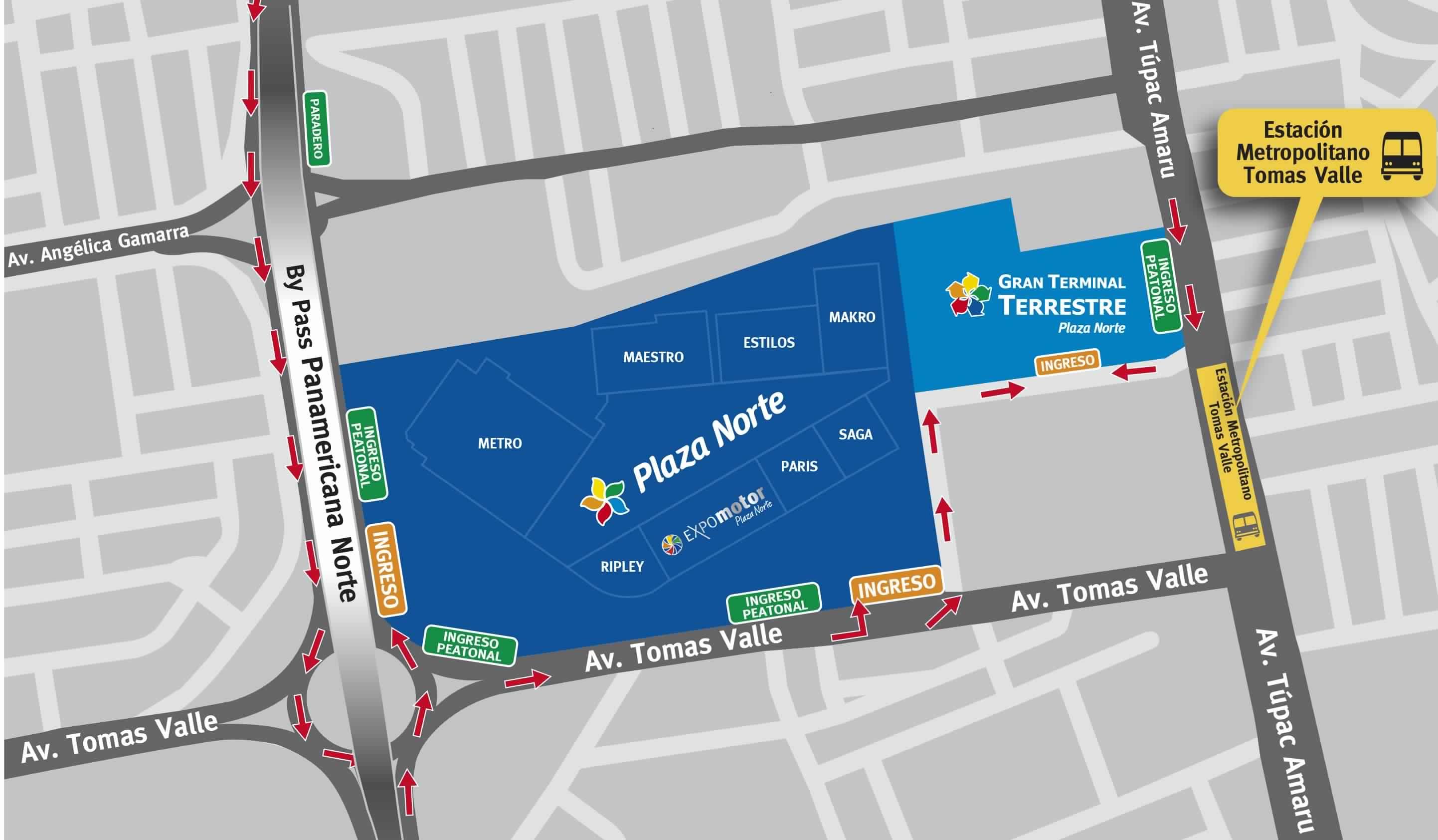 562c83ea7 Plaza Norte - Mapa de Ubicación