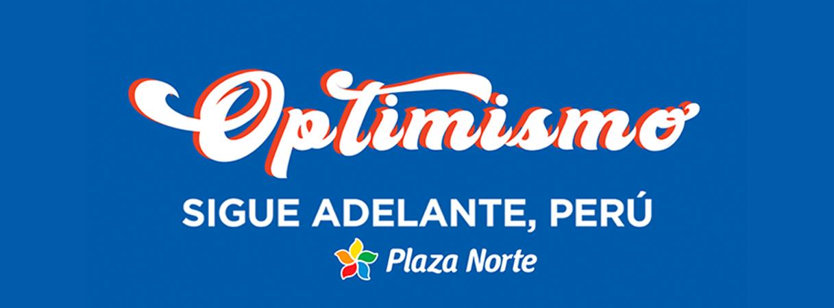 BANNER OPTIMISMO CUARENTENA - Plaza Norte