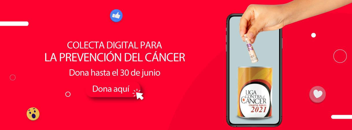 Colecta digital para la prevención del cáncer - Plaza Norte