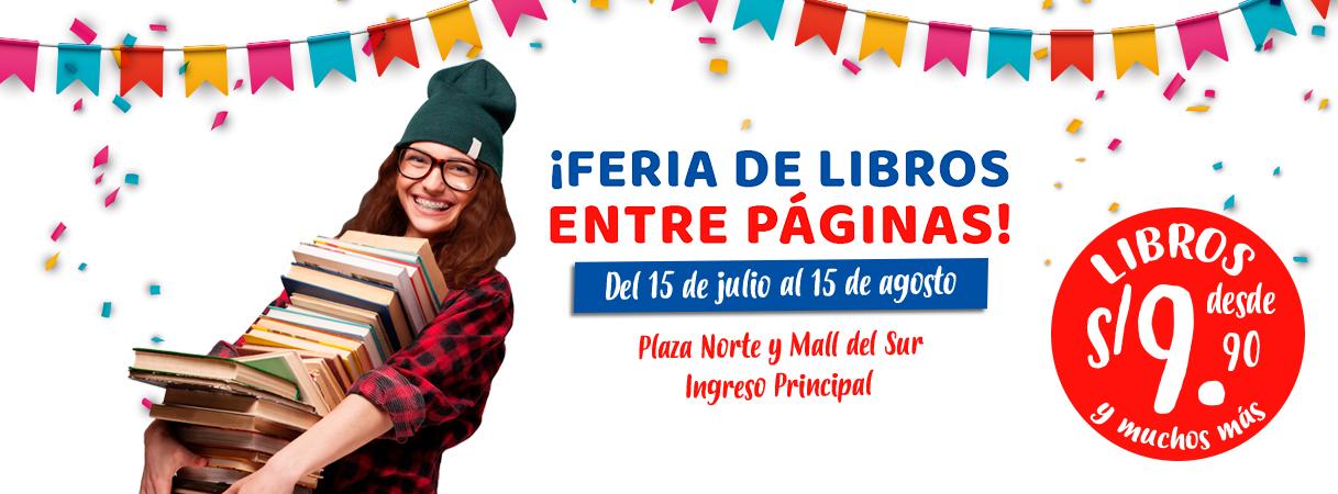 FERIA DE LIBROS ENTRE PÁGINAS - Plaza Norte