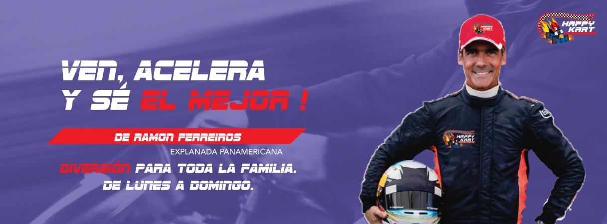 Happykart de Ramón Ferreyros - Plaza Norte